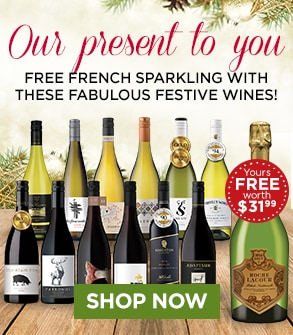 Our present to you... FREE FRENCH SPARKLING! SHOP NOW