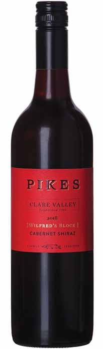 Pikes Wilfred's Block Clare Valley Cabernet Shiraz